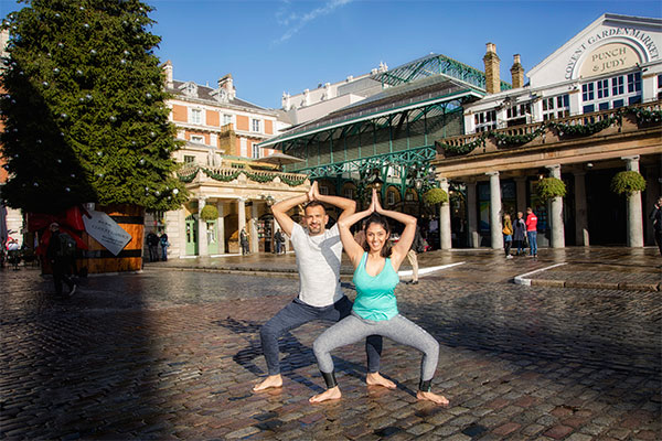 Couple Yoga classes in London
