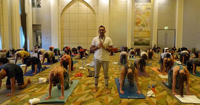 Yoga classes in London