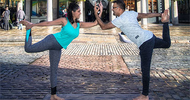Best couple yoga classes in London