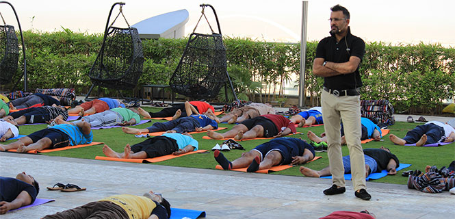 Best corporate yoga therapy in London