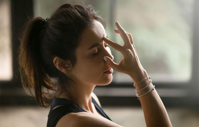 Third eye chakra yoga poses